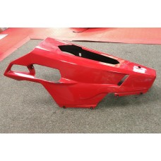 Used - Carbon Fiber BellyPan - Painted for Ducati 848/1098/1198