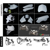 Paolo Tex Design Bodykits for Ducati Monster's (02-07)