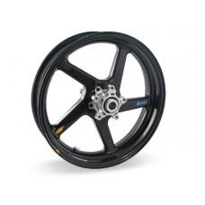 BST Diamond TEK 5 Spoke Carbon Fiber Front Wheel for the Suzuki GSX-R1000 (01-04) - R Series - 3.5 x 16