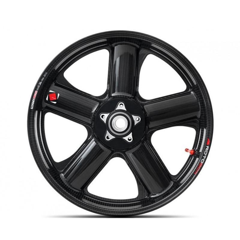 Rotobox Carbon Fiber Front Wheel For The Triumph Daytona 675 06 12