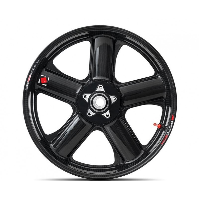 Rotobox Carbon Fiber Front Wheel For The Kawasaki Ninja H2 R 15 17