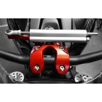 CNC Racing Handlebar Clamp for use with Steering Damper for Ducati Monster 1200/S/R