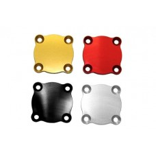 TPO Billet Aluminum Low Profile Oil Drain Plate Cover for Late Model Ducati's