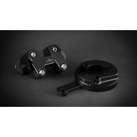 AEM FACTORY - DUCATI SCRAMBLER RISER KIT & CLOCK SUPPORT  FOR 28MM HANDLEBARS