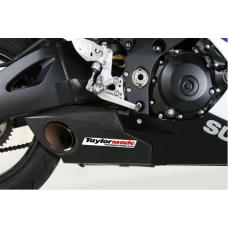 Taylormade Carbon Fiber Under Body Slip-On Exhaust Kit for the Suzuki GSXR 1000 (2007-2008)