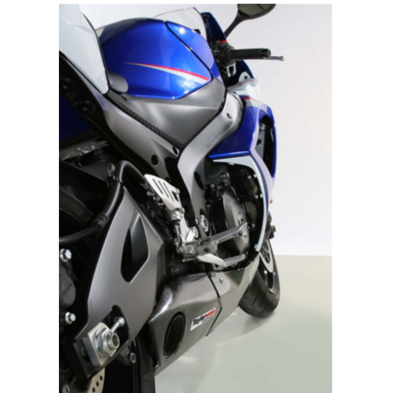 Taylormade Carbon Fiber Under Body Slipon Exhaust Kit For The Suzuki Gsxr 1000 20072008: Taylormade Exhaust Gsxr 1000 At Woreks.co