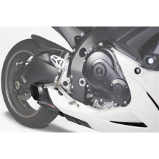 Taylormade Carbon Fiber Under Body Exhaust Kit for the Suzuki GSXR 600/750 (2011+)