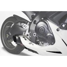 Taylormade Carbon Fiber Under Body Exhaust Kit for the Suzuki GSXR 600/750 (2011-2015)