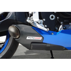 Taylormade Carbon Fiber Under Body Exhaust Kit for the Suzuki GSXR 600/750 (2008-2010)