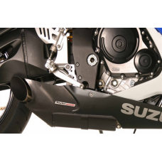 Taylormade Carbon Fiber Under Body Exhaust Kit for the Suzuki GSXR 600/750 (2006-2007)