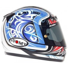 Suomy Apex Helmet TORNADO BLUE/RED