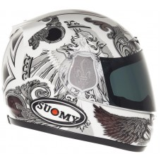 Suomy Apex Helmet WHITE ANGEL