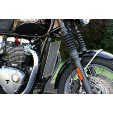 Cox Racing Radiator Guard for the Triumph Bonneville T120