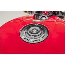 CNC Racing Aluminum Key Block Gas Cap for newer Ducati's  MV's and Aprilia's