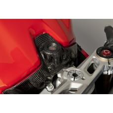 CARBONIN CARBON FIBER KEY LOCK COVER FOR DUCATI 1199 PANIGALE