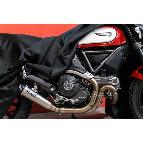 FM Projects Slip-on Exhaust for Ducati Scrambler