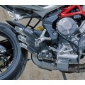 FM Projects Slip-on Exhaust for MV Agusta F3 675/800, Brutale 675/800, Dragster, And Rivale