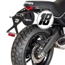 Barracuda Licence Plate 'Street' Model for the Ducati Scrambler (2015-2016)