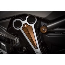 AEM Factory - 'SNORK-X' Billet Vertical Belt Air Intake Cover for the XDiavel