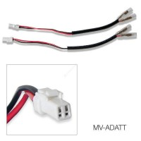 Barracuda Indicator Cable Kit for the MV Agusta and Certain Ducati's (white plug)