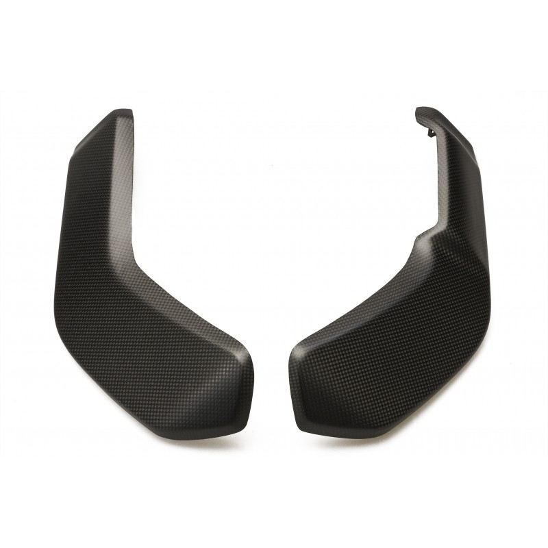CNC Racing Carbon Fiber Radiator Side Panels for the Ducati