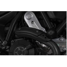CNC Racing Carbon Fiber Belt Covers for Ducati Scrambler