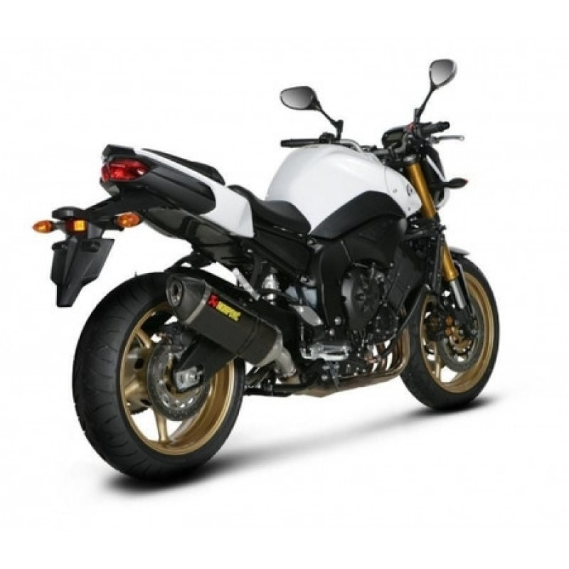 akrapovic racing exhaust system yamaha fz8 2010 2013. Black Bedroom Furniture Sets. Home Design Ideas