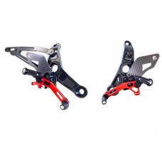 Ducabike Adjustable Rearsets for the Ducati Monster 821/1200