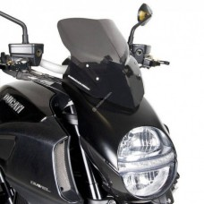 Barracuda Windshield Aerosport for the Ducati Diavel (2010-2014) (Original Headlight)