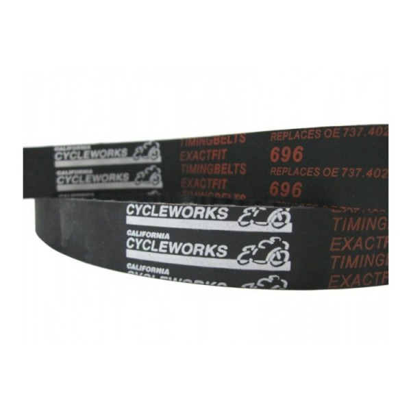 CA Cycleworks ExactFit Timing Belts for Ducati Scrambler, Hypermotard / Monster 797, 796, 795 / 696