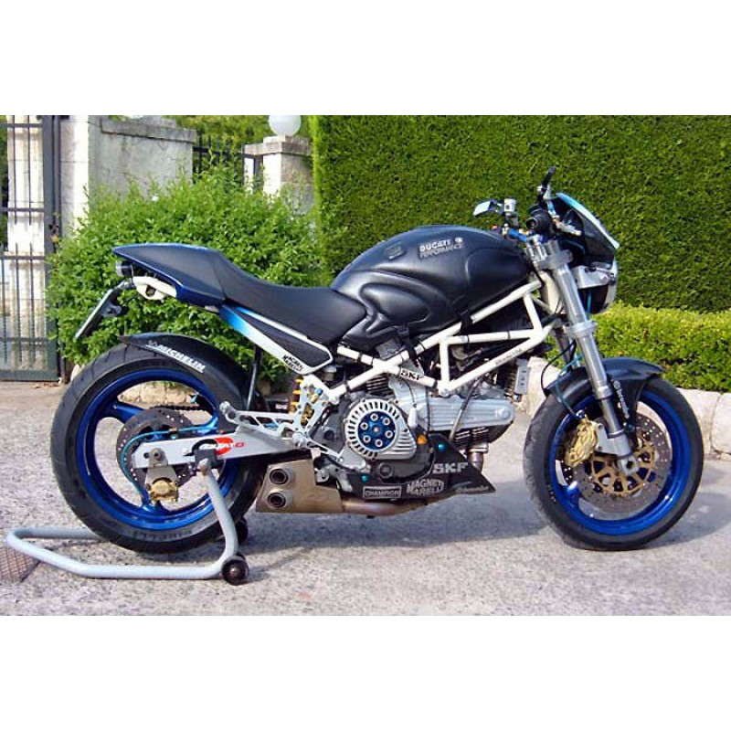 Qd Exhaust Ex Box Complete System Ducati Monster 400600620695