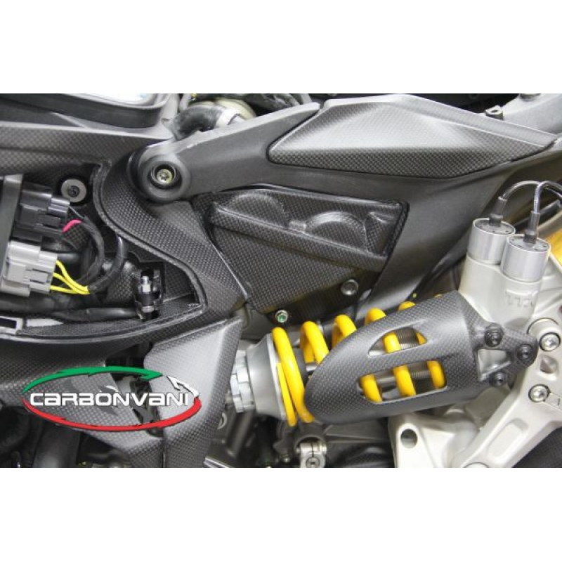 Carbonvani Ducati 1299 Panigale Carbon Fiber Cylinder Head Covers