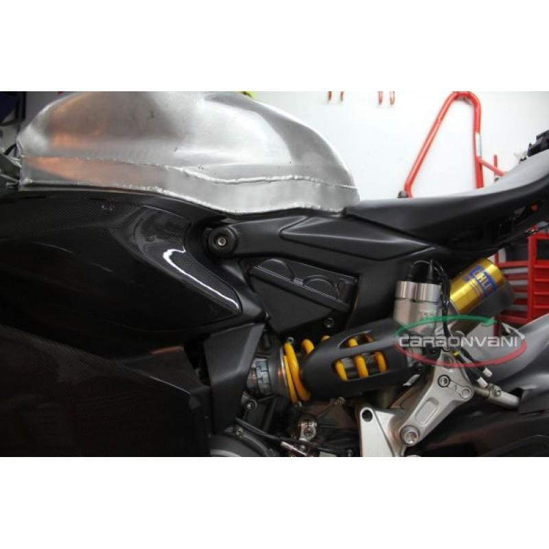 Carbonvani Ducati 1299 Panigale Carbon Fiber Subframe Covers