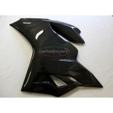 CARBONVANI - DUCATI 1199 PANIGALE CARBON FIBER LH SIDE PANEL- SUPERLEGGERA SHAPE -ROAD VERSION