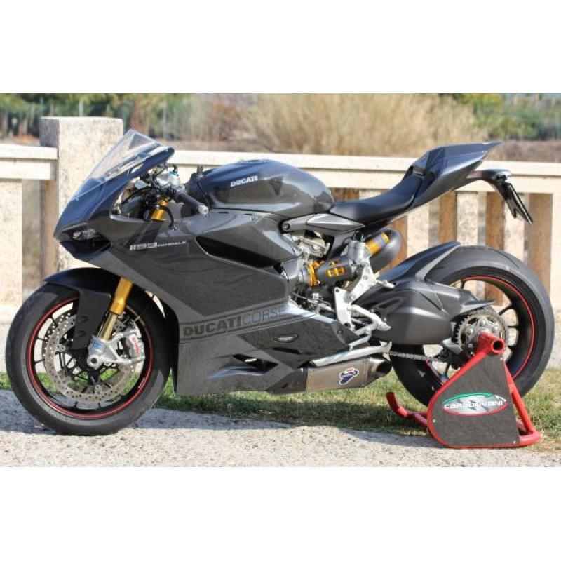 Carbonvani Ducati 1199 Rr Panigale Carbon Fiber Full Fairing Road