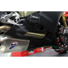CARBONVANI - DUCATI 1199 PANIGALE BELLY PAN -? ROAD VERSION