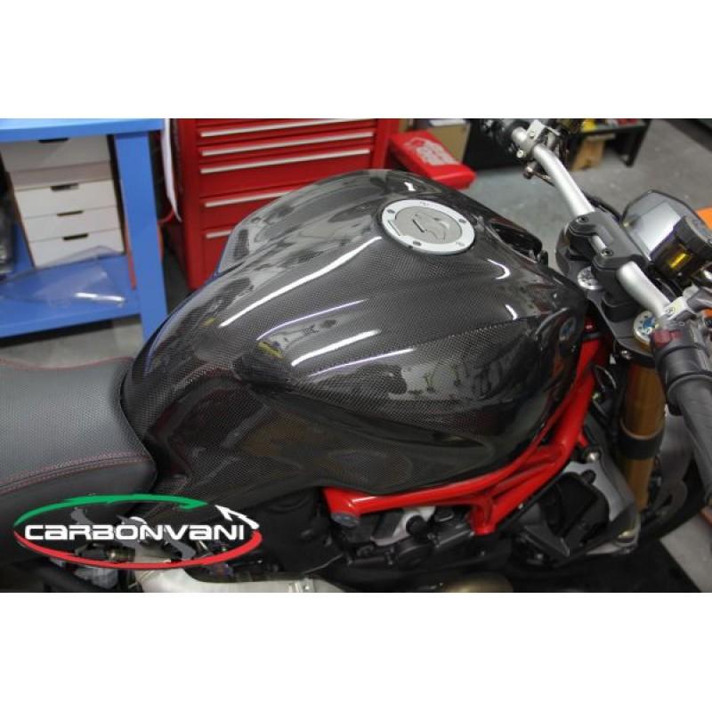 Carbonvani Ducati Monster 821 1200 Carbon Fiber Fuel Tank