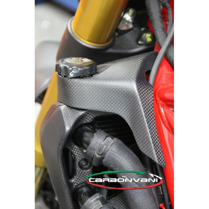 Carbonvani Ducati Monster 821 1200 Carbon Fiber Water Cooler Cap