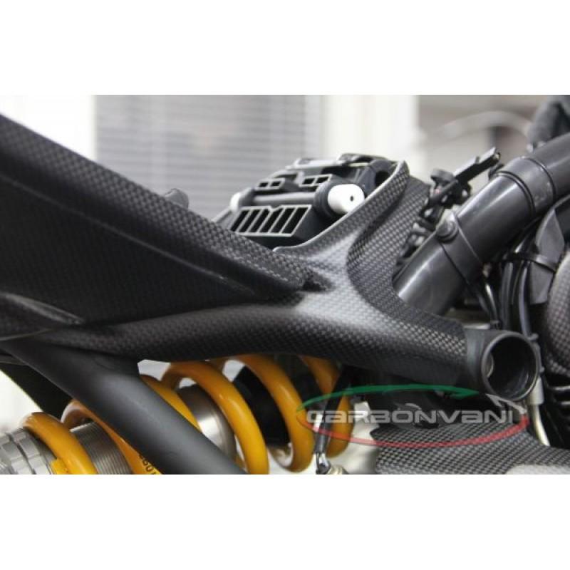 Carbonvani Ducati Monster 821 1200 Carbon Fiber Rh Seat Frame Cover