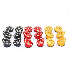 Ducabike Contrast Cut Frame Plug Kit for the Ducati Monster 1200 and 821