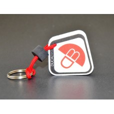 Ducabike Anti-Scratch (Rubber) Key Fob (Ring)