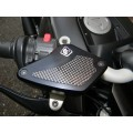 Ducabike Billet Front Brake & Clutch Reservoir Caps for the Ducati Diavel