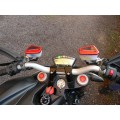 Ducabike Billet Front Brake & Clutch Reservoir Caps for the Ducati GT 1000  Multistrada 1000  ST3/ST4S  and Streetfighter/S