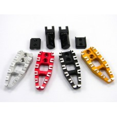 Ducabike Adjustable Passenger 'Cut' Footpegs for Ducati