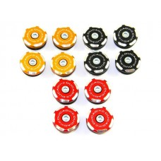 Ducabike Contrast Cut Frame Plug Kit for the Ducati 749/999