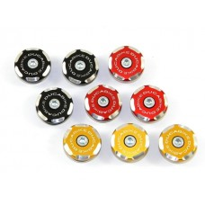 Ducabike Contrast Cut Frame Plug Kit for the Ducati ST2/ST3/ST4