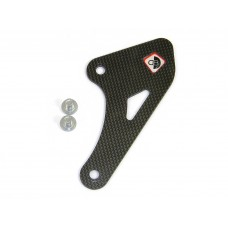 Ducabike Carbon Fiber Ankle/Chain Guard for Adjustable Rearsets for the Ducati Hypermotard 821/939