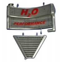 Galletto Radiatori (H2O Performance) Oversized Radiator and Oil Cooler kit For Ducati S4