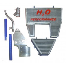 Galletto Radiatori (H2O Performance) Oversized Radiator and Oil Cooler kit For Ducati 1098/1198 & 848