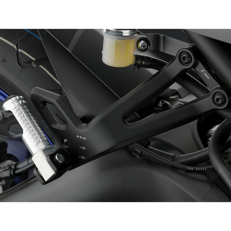 Rizoma Passenger Pegs Kit For The Yamaha FZ 09